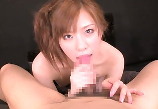 Best Japanese girl in Amazing Blowjob, Teens JAV scene